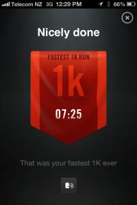 Fastest 1k
