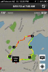 Run Map Day 8