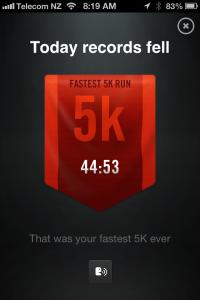 Day 15 Fastest 5k