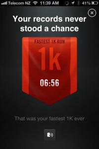 Fastest 1k 18.01.2013