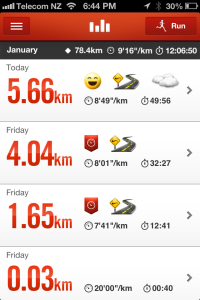 78.4km for January