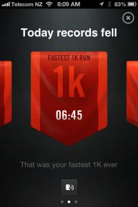 Fastest 1k 23.01.2013