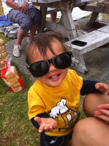 Grayson at Carls Picnic