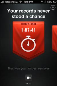 Longest Run 12.03.2013