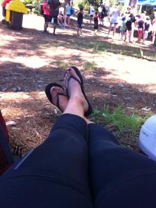 Tired legs!